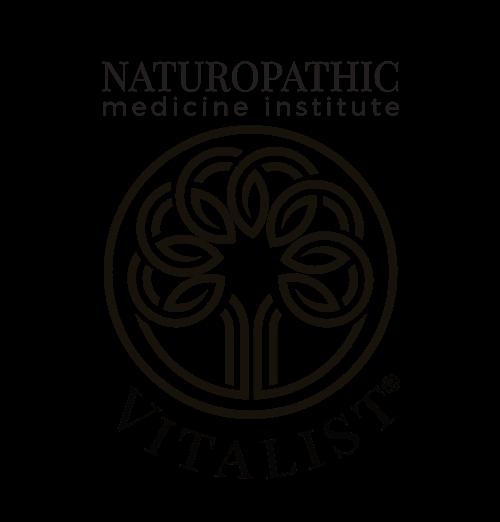 Naturopathic medicine institute - vitalist emblem